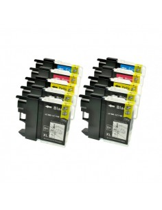 KIT 10 CARTUCCE LC980 LC100...